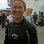 a picture of Sarah Oxford at sharkfest